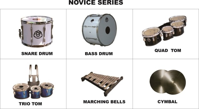 NOVICE SERIES, Jual Drumband, Pengrajin Marching Band (0818 262 175)