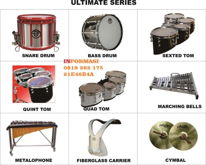 Ultimate Series, Jual Alat Marching Band, Jual Alat DrumBand (+62818 262 175)
