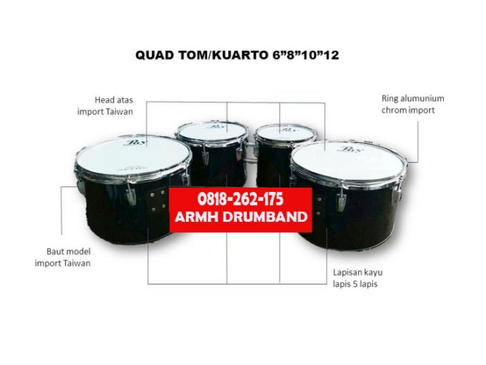 0818-262-175 (XL) Harga Alat Drumband Untuk SMP
